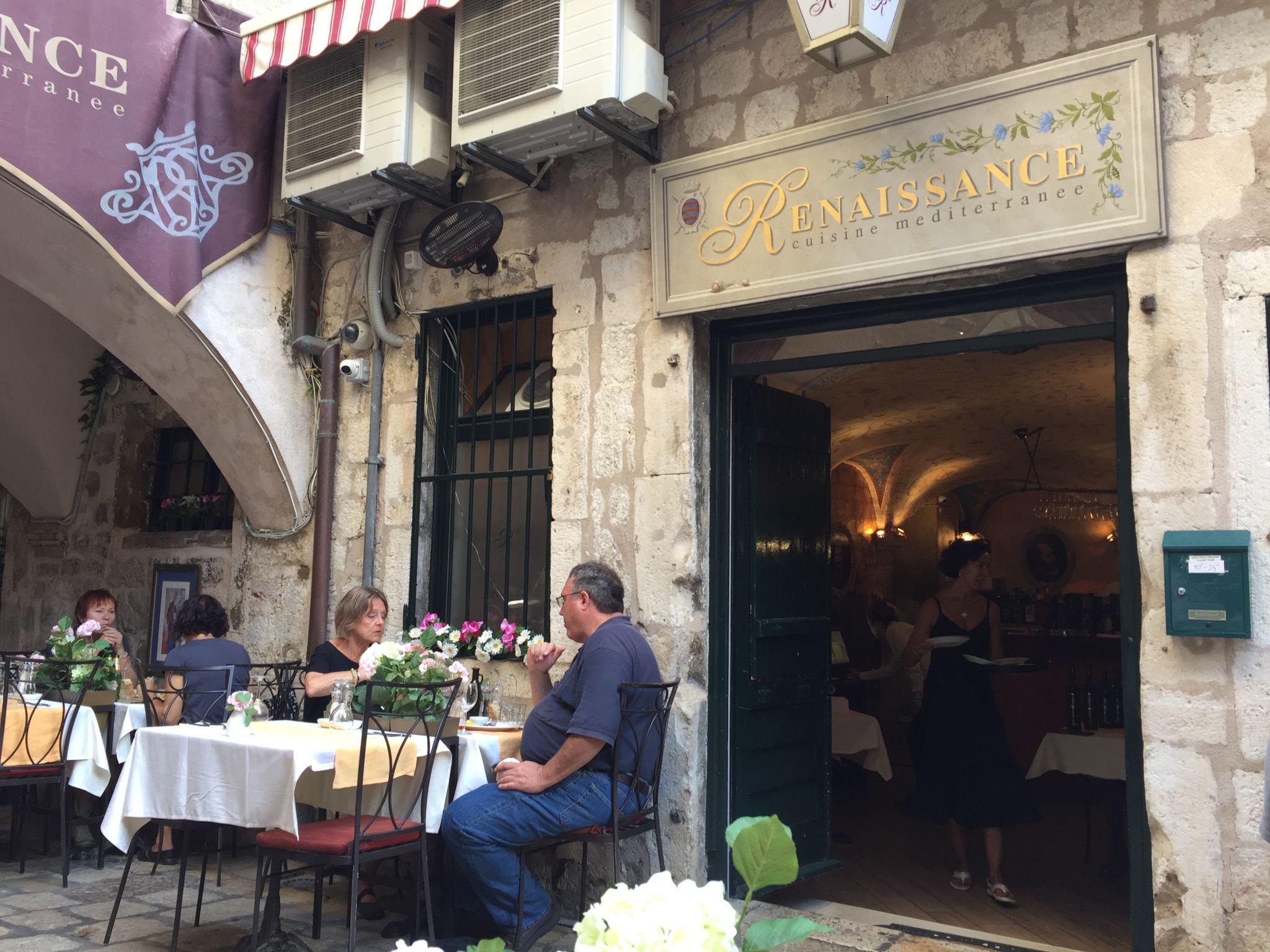 Art Restaurant Renaissance, Dubrovnik