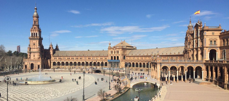 Valentine's Day Plaza de España, Seville