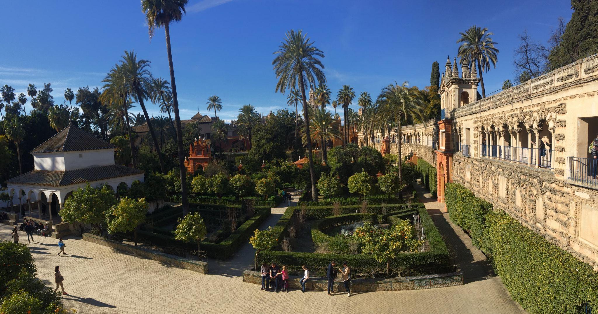 Alcázar Palace Gardens, Seville