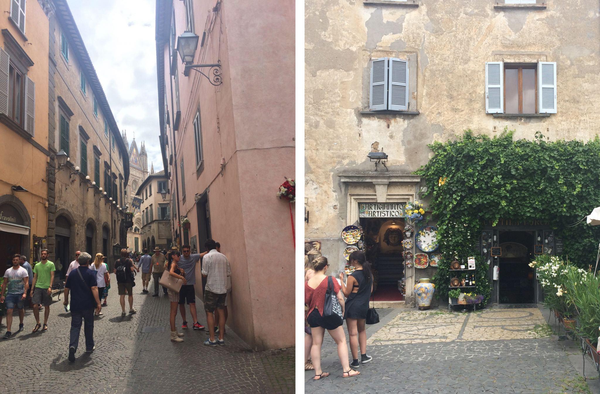 orvieto streets umbria
