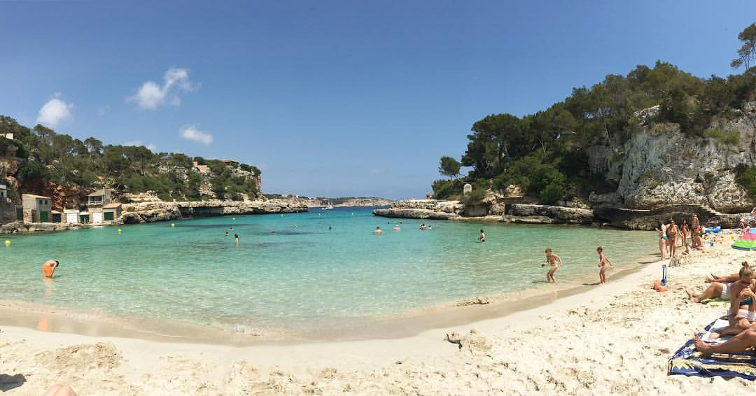 Santanyi Majorcan beaches