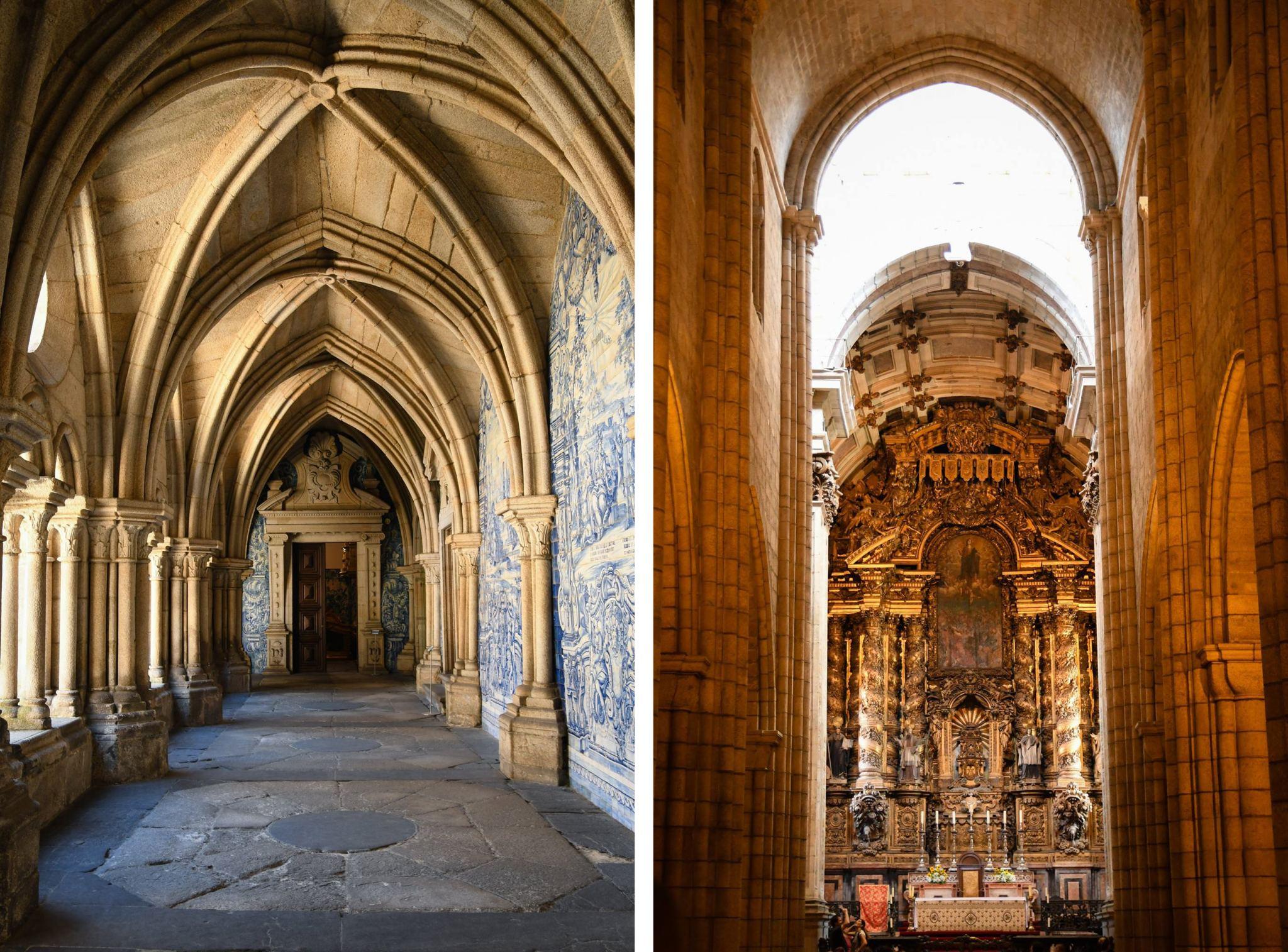 Porto Cathedral inside blog