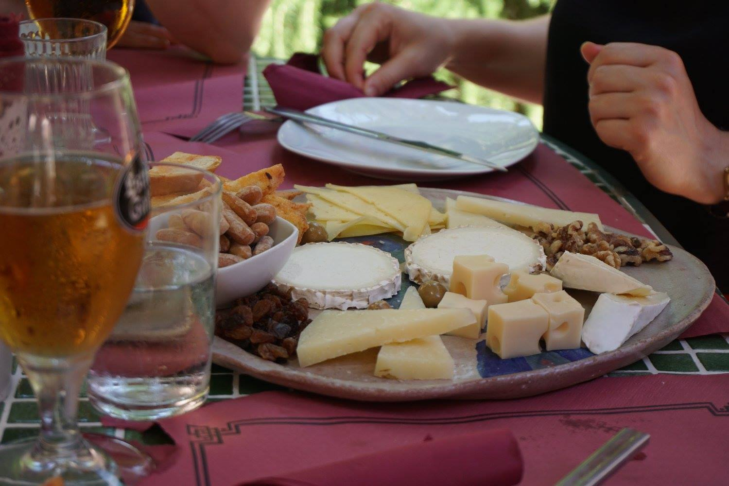 tapas - cheese
