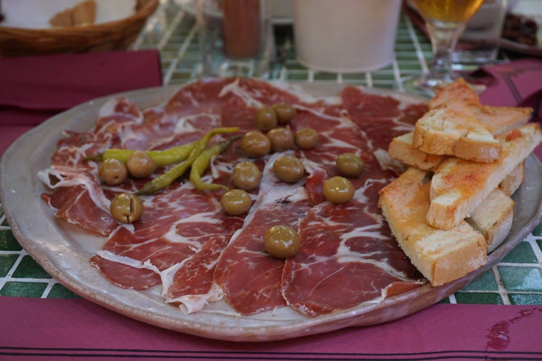 tapas - meat