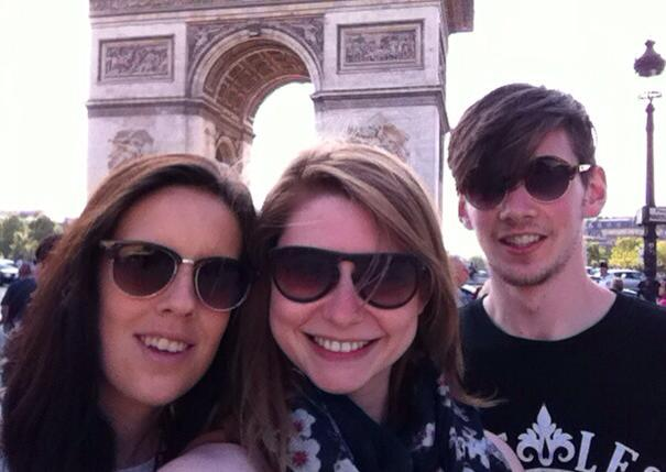 Arc de Triomphe Paris BFF