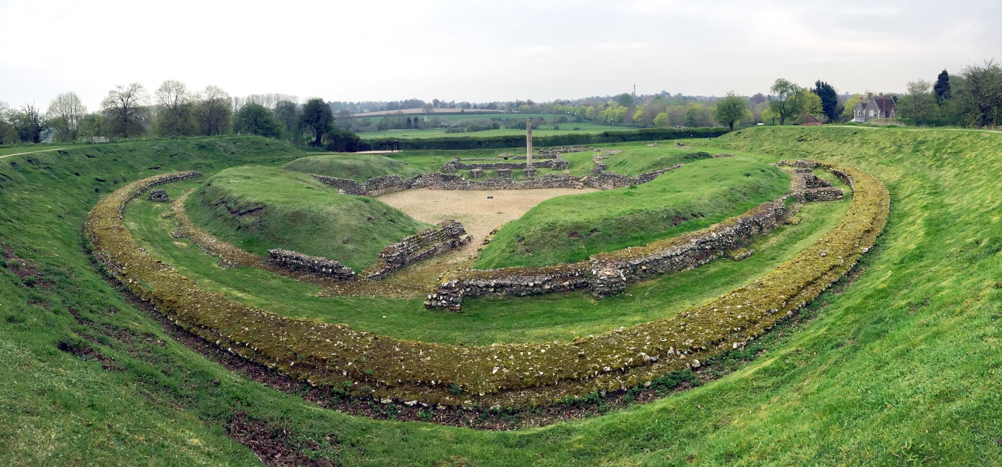 Exploring the Roman ruins of St Albans