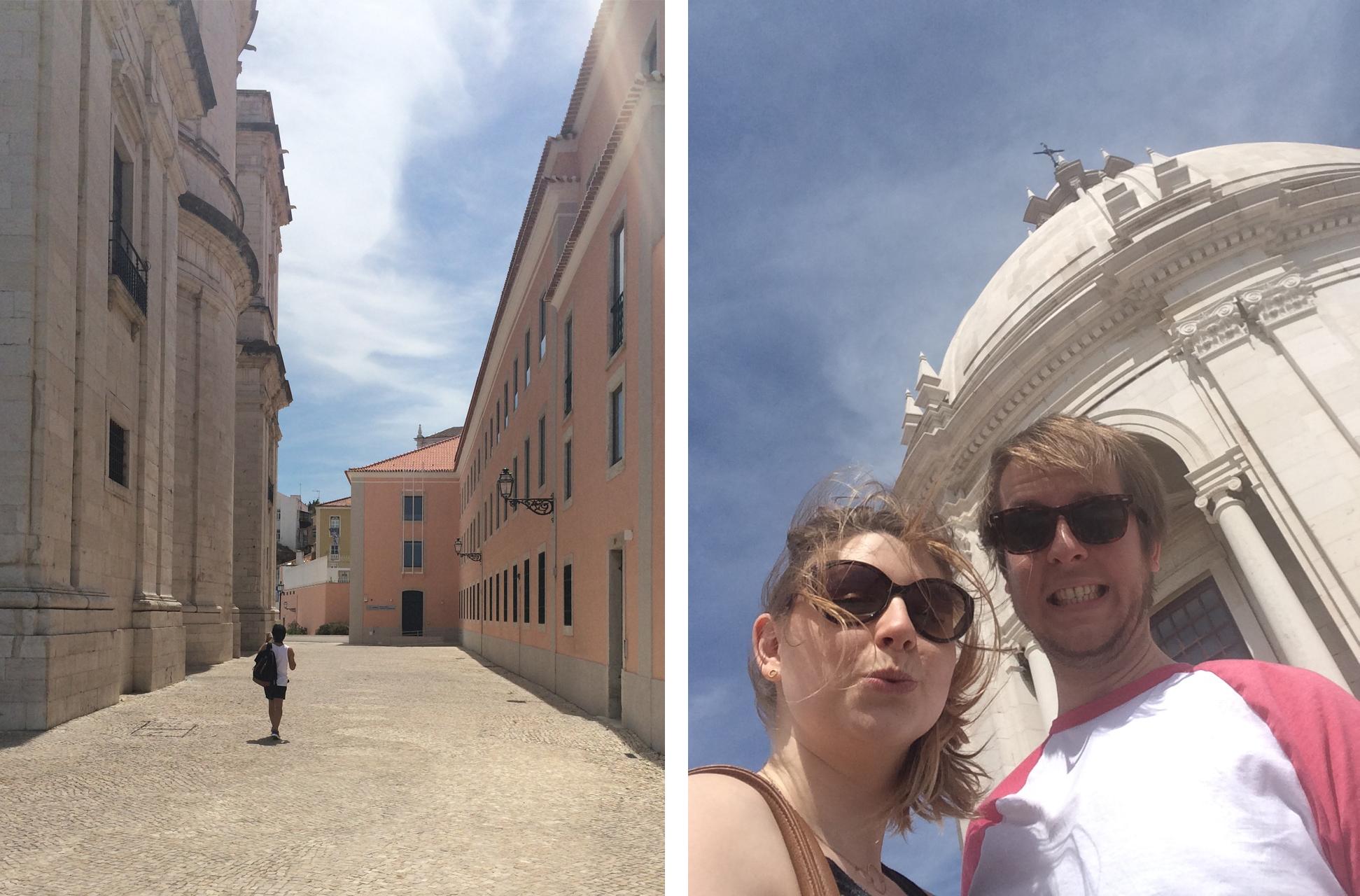 basilica selfie