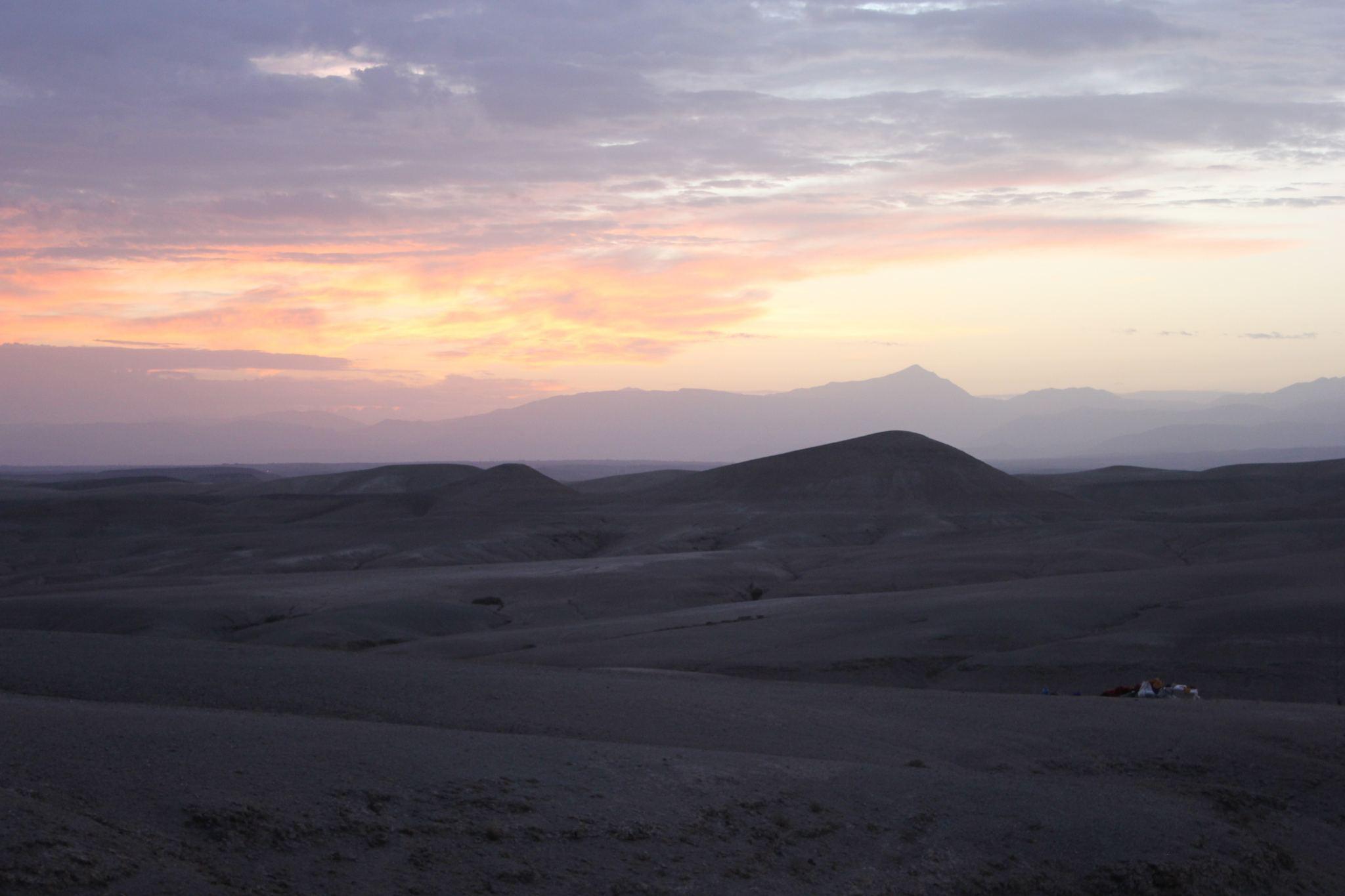 Agafay desert Morocco