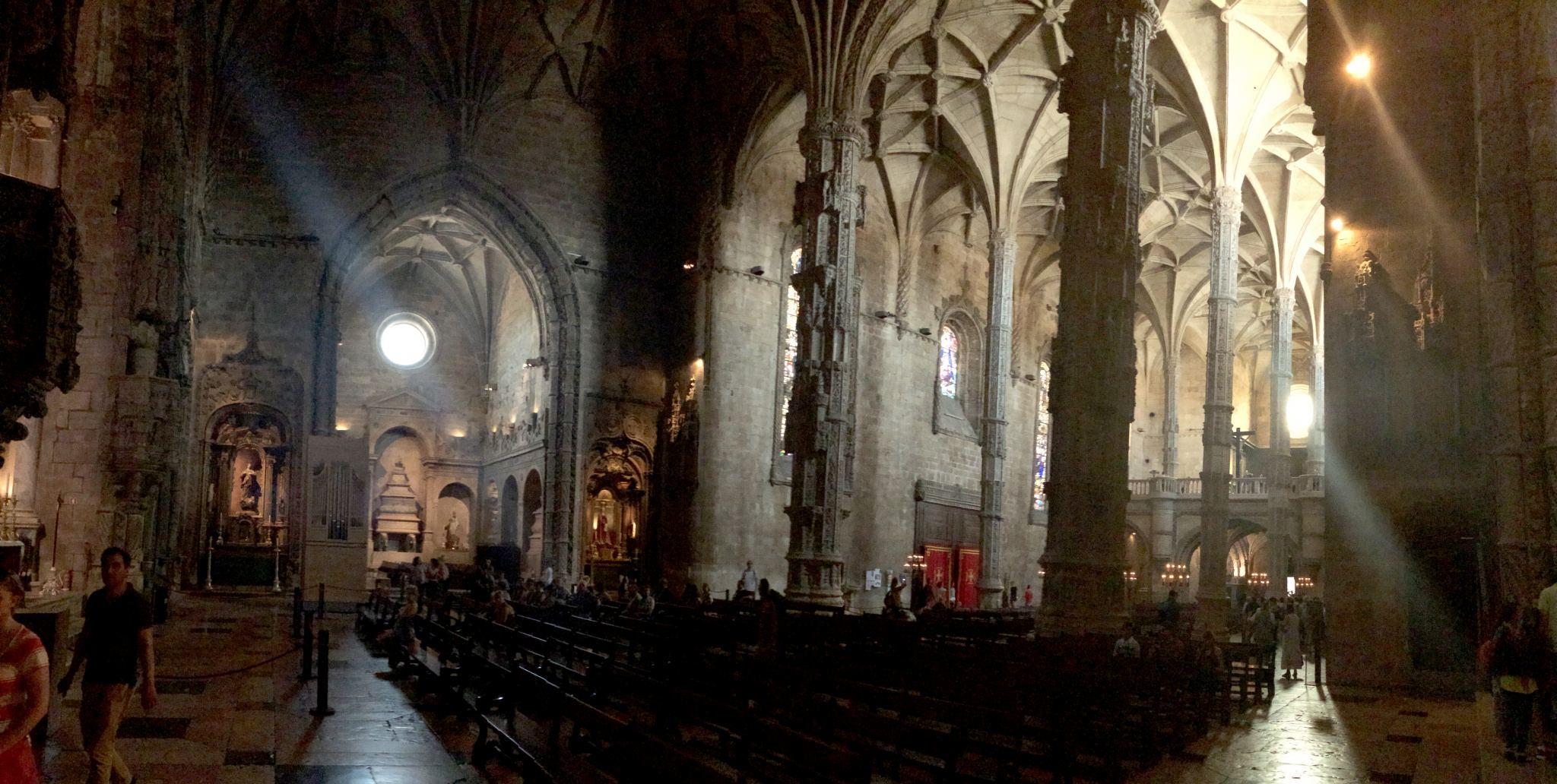inside monestery