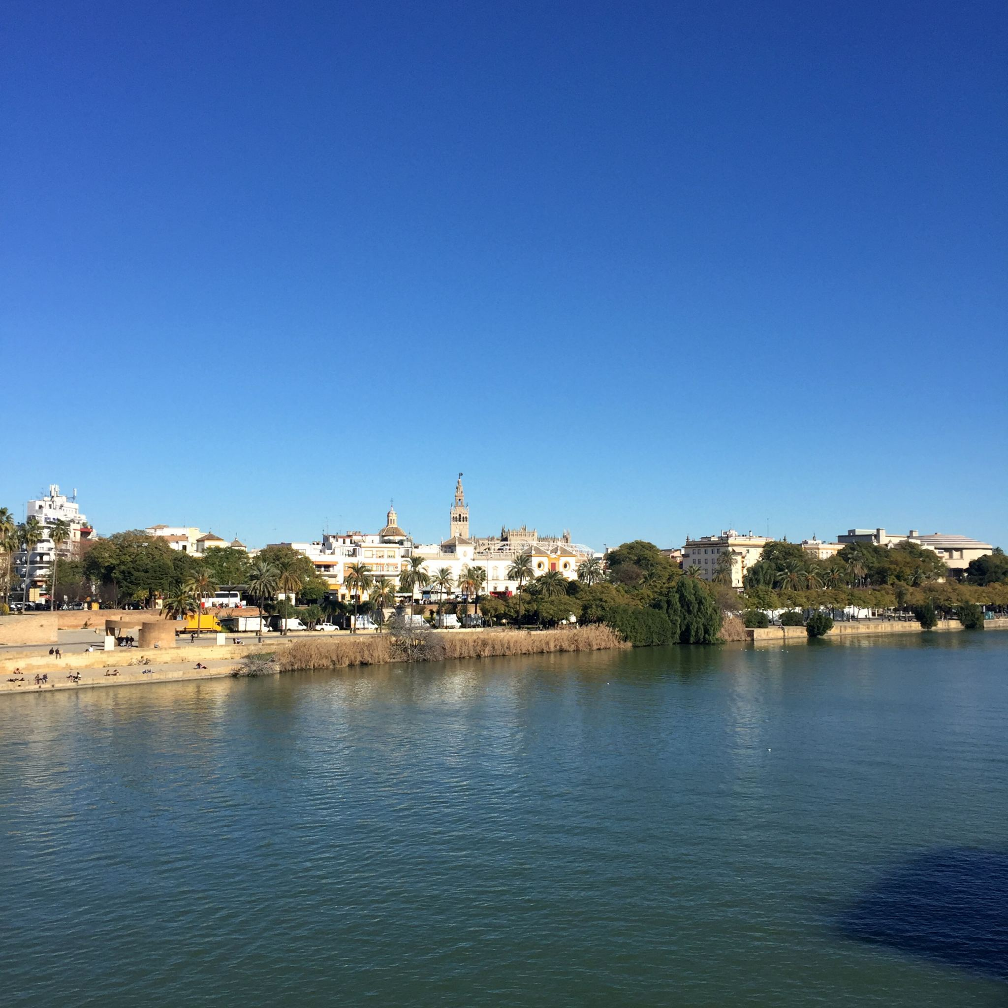 Seville photo river