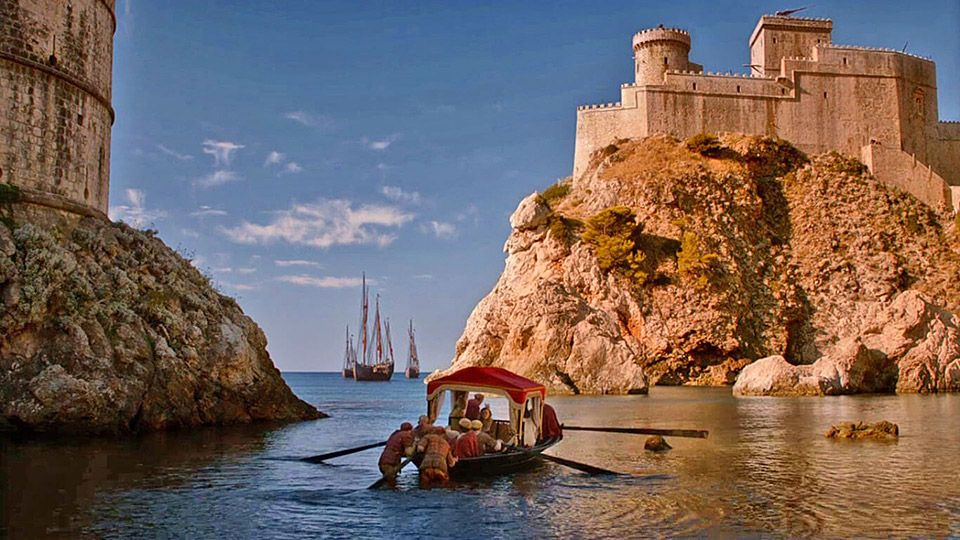 Dubrovnik West Harbour Game of Thrones