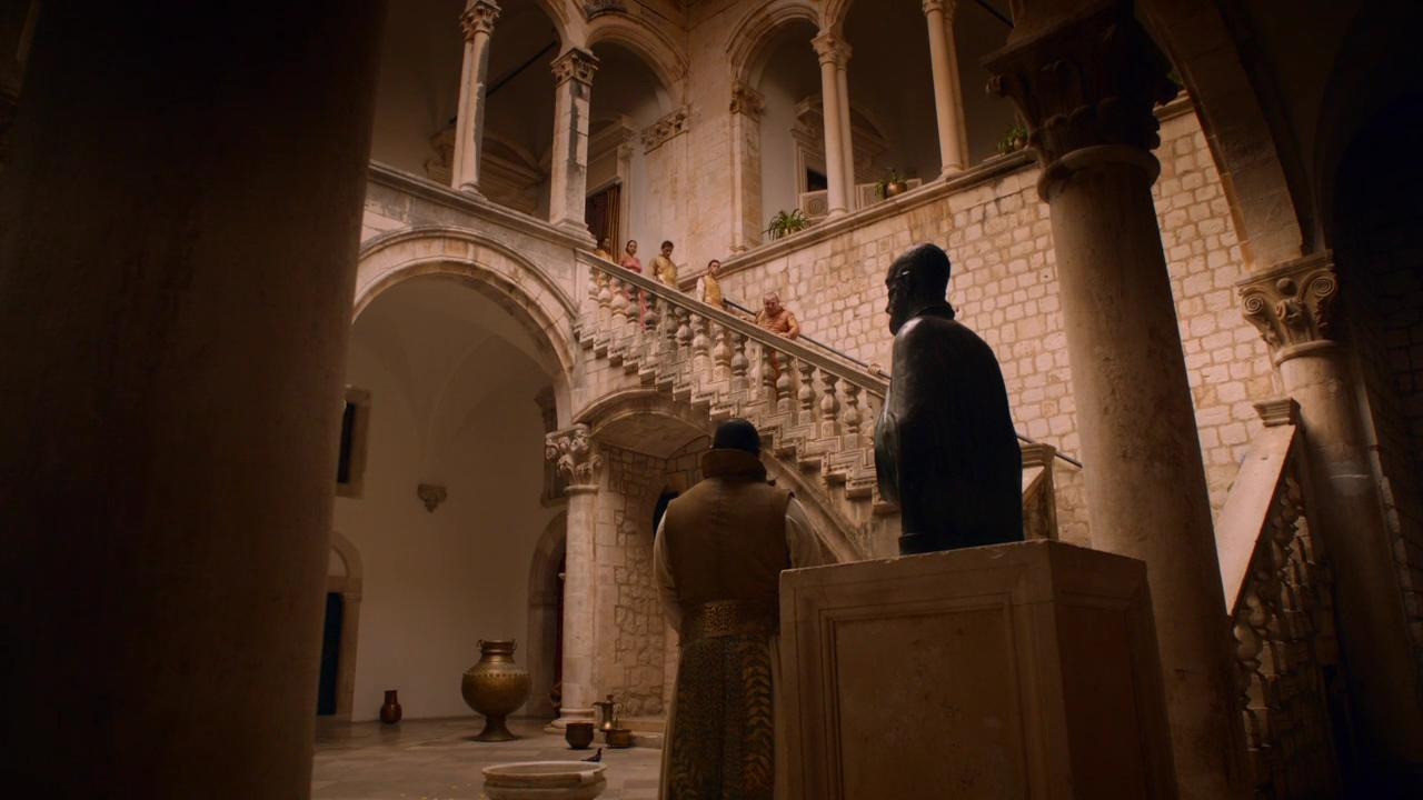 Rector's Palace dubrovnik game of thrones