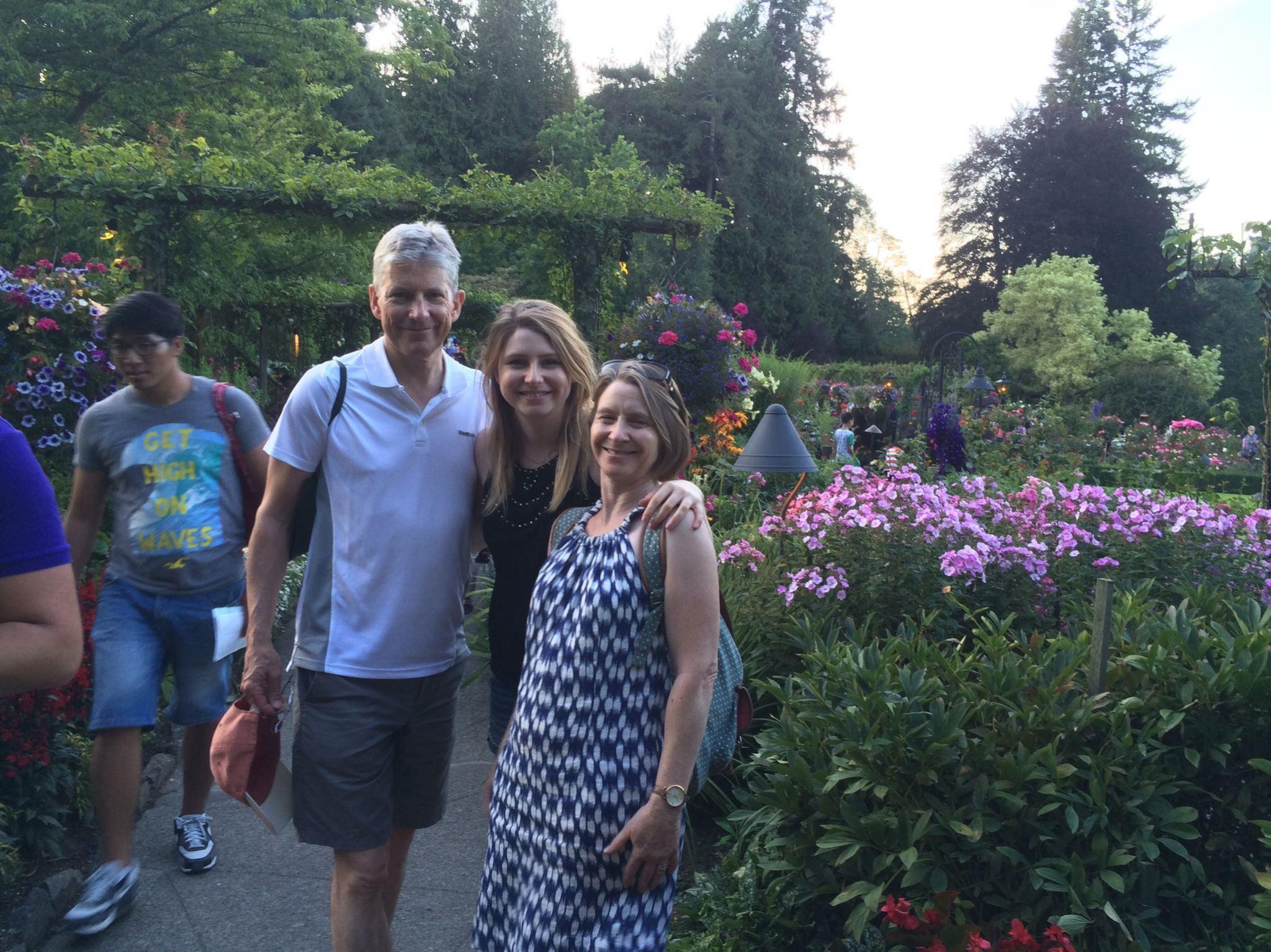 The Butchart Gardens Vancouver Island