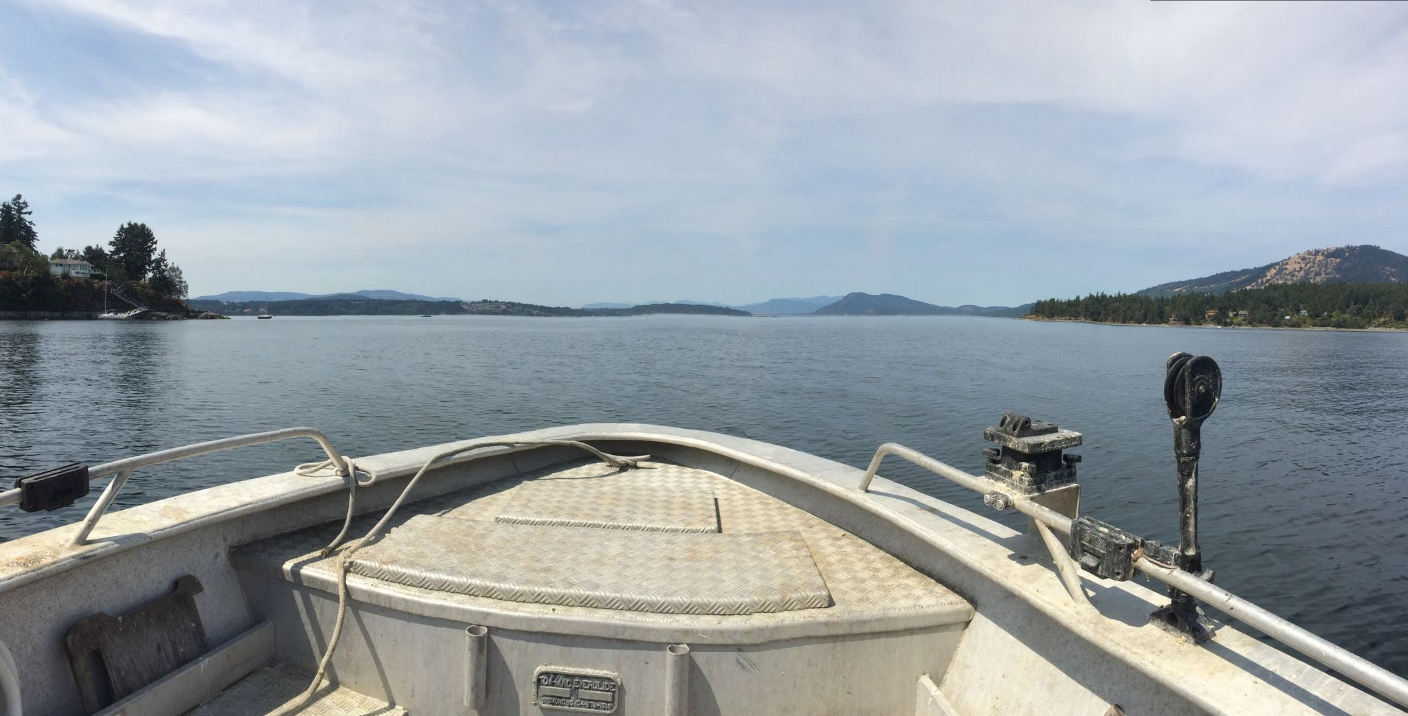 Saanich Inlet Vancouver Island