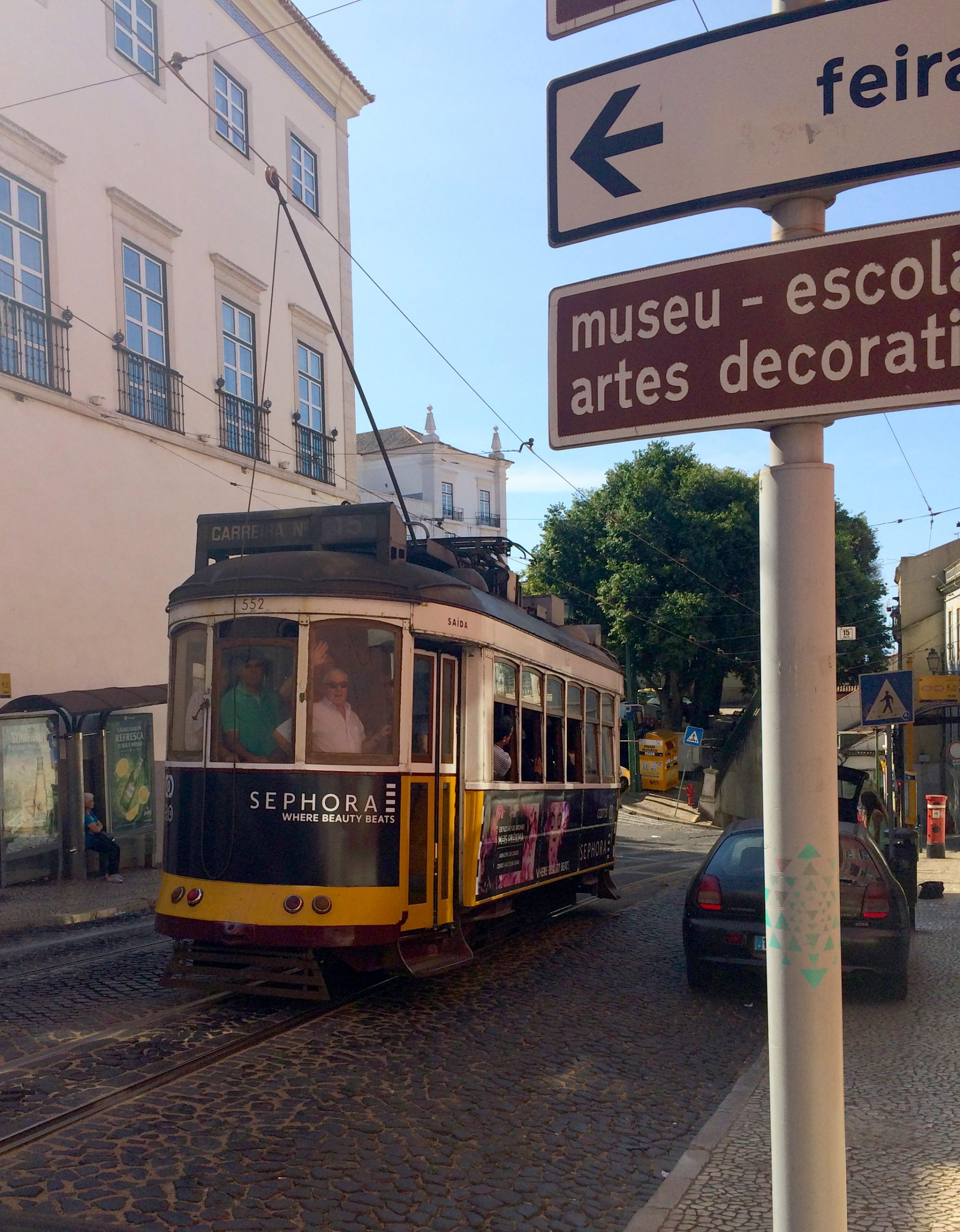 line 15 Alfama Lisbon