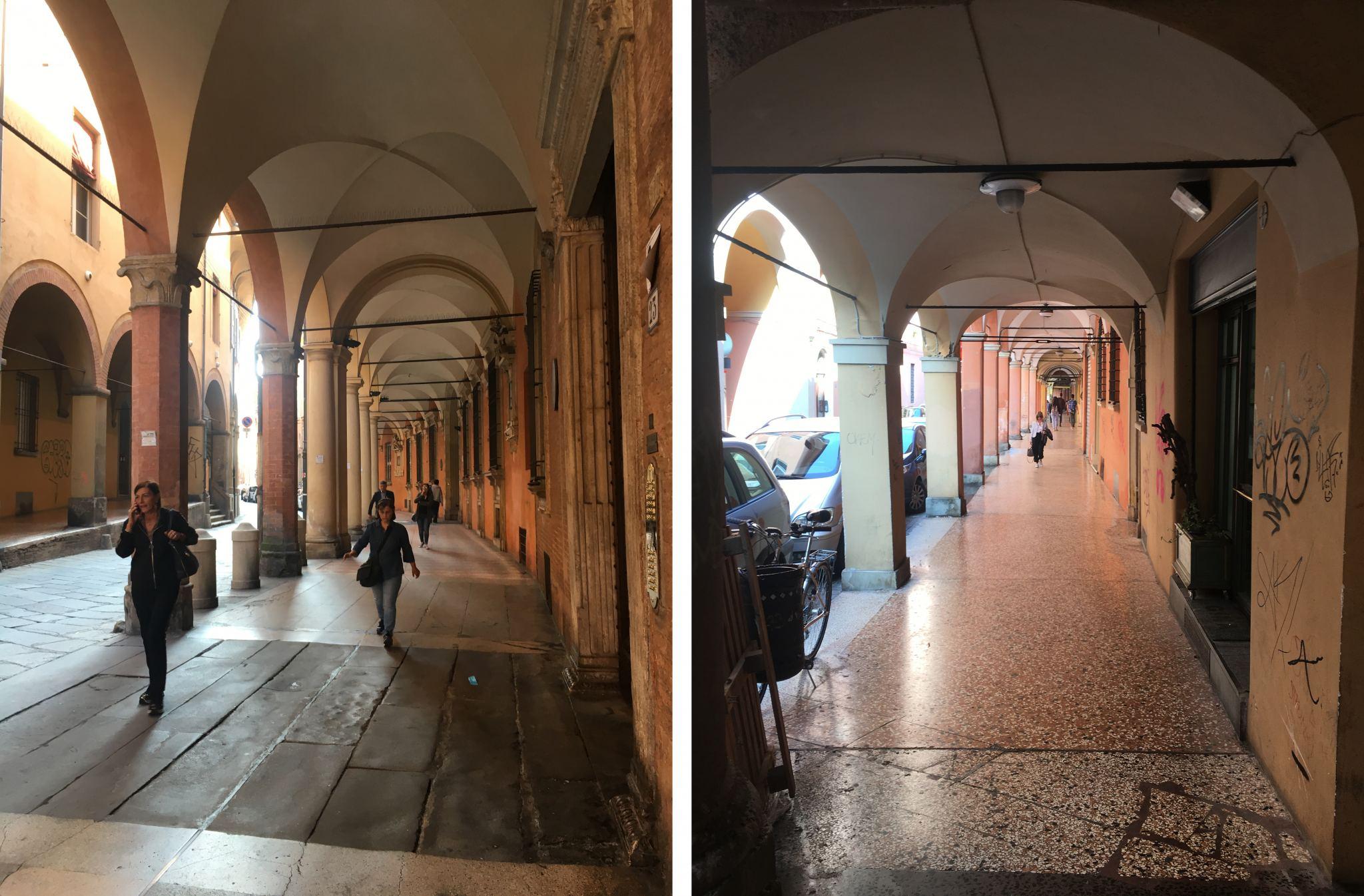 Via Castiglione Bologna