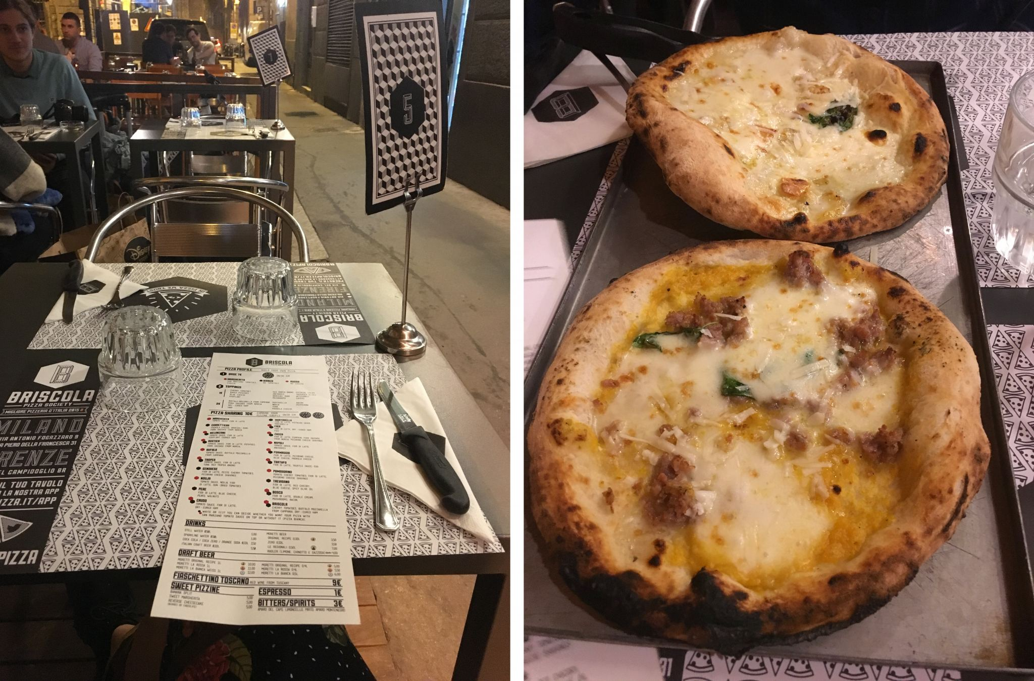 Briscola Pizza Society Florence