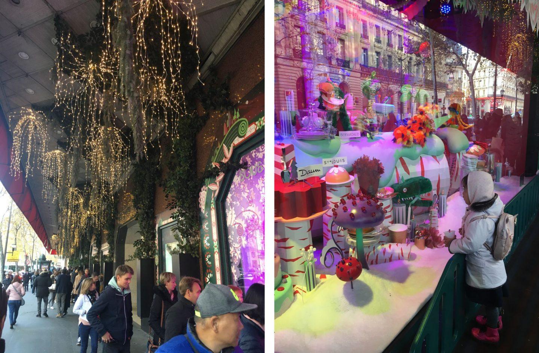 Paris Galeries Lafayette Christmas