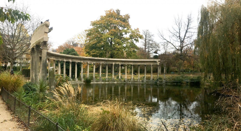 Parc Monceau Paris autumn