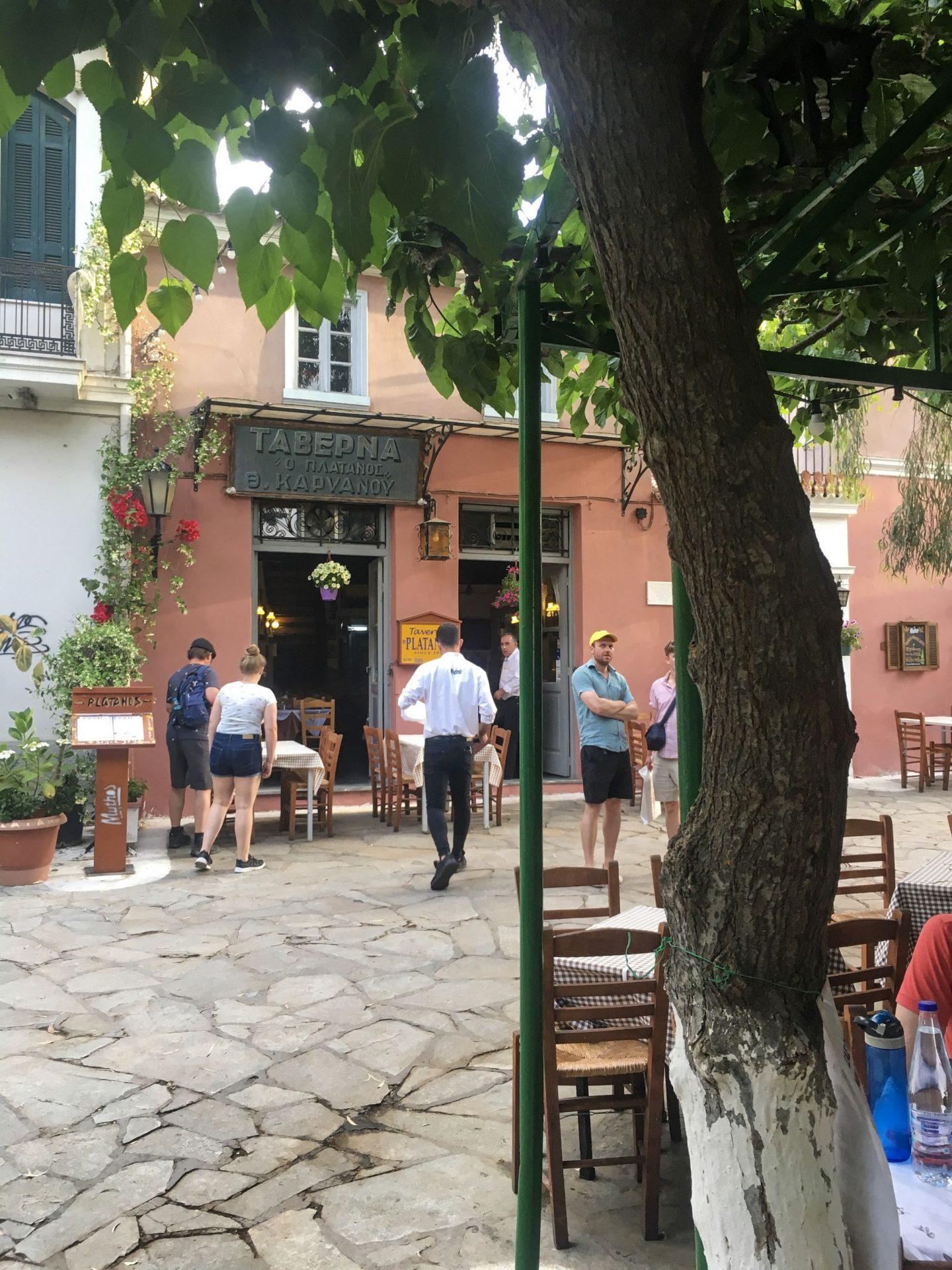 Taverna Platanos Athens