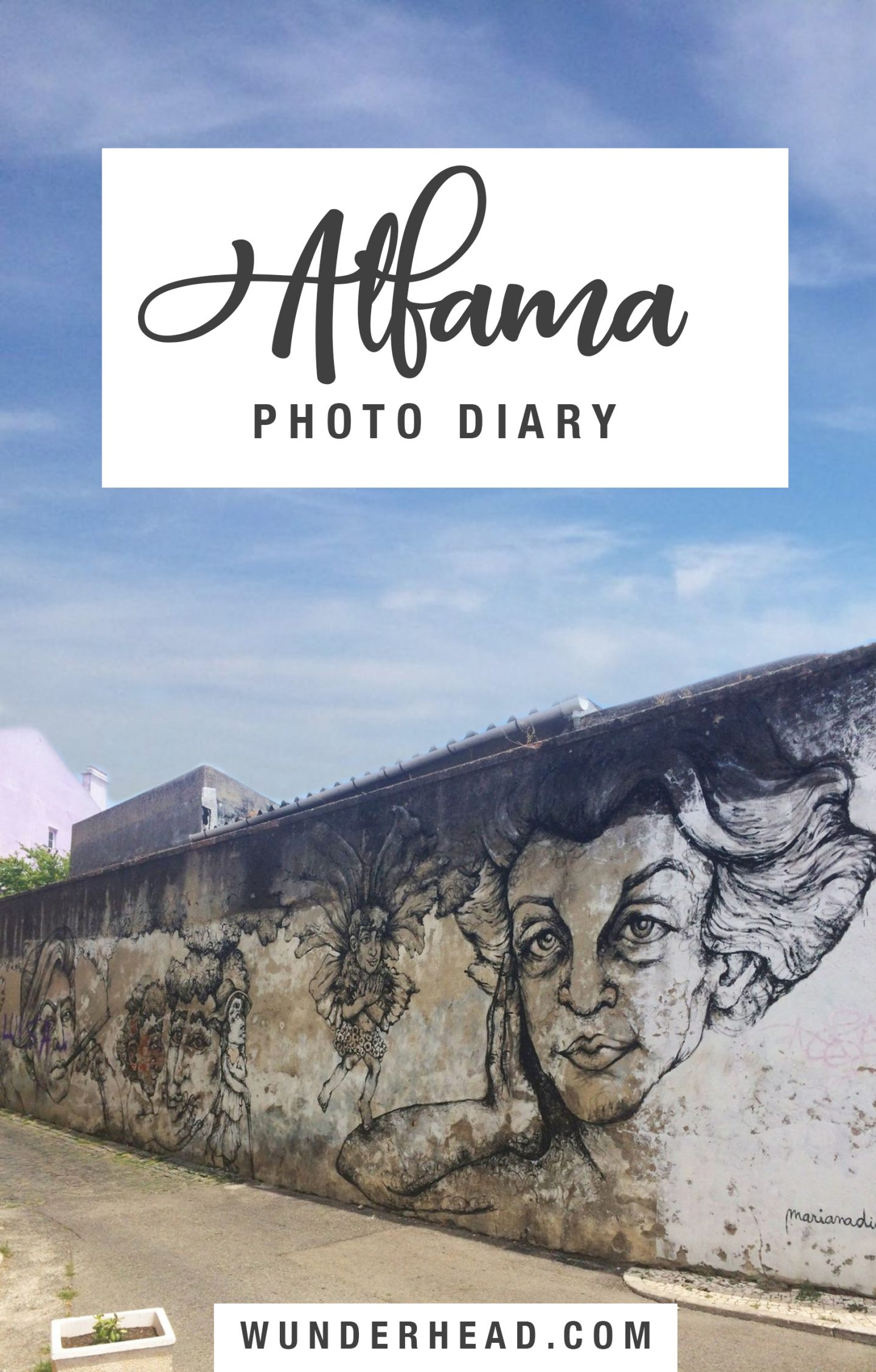 Alfama photo diary Pinterest
