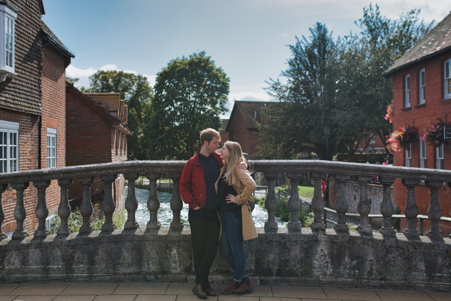 Sophie & Matt engagement shoot Harps Joseph Photography Winchester