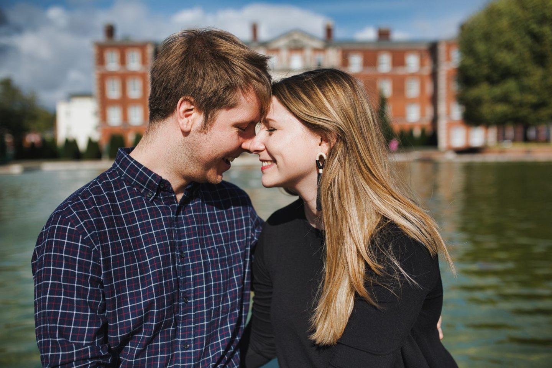 Sophie & Matt engagement shoot Harps Joseph Photography Gurkha Museum Winchester