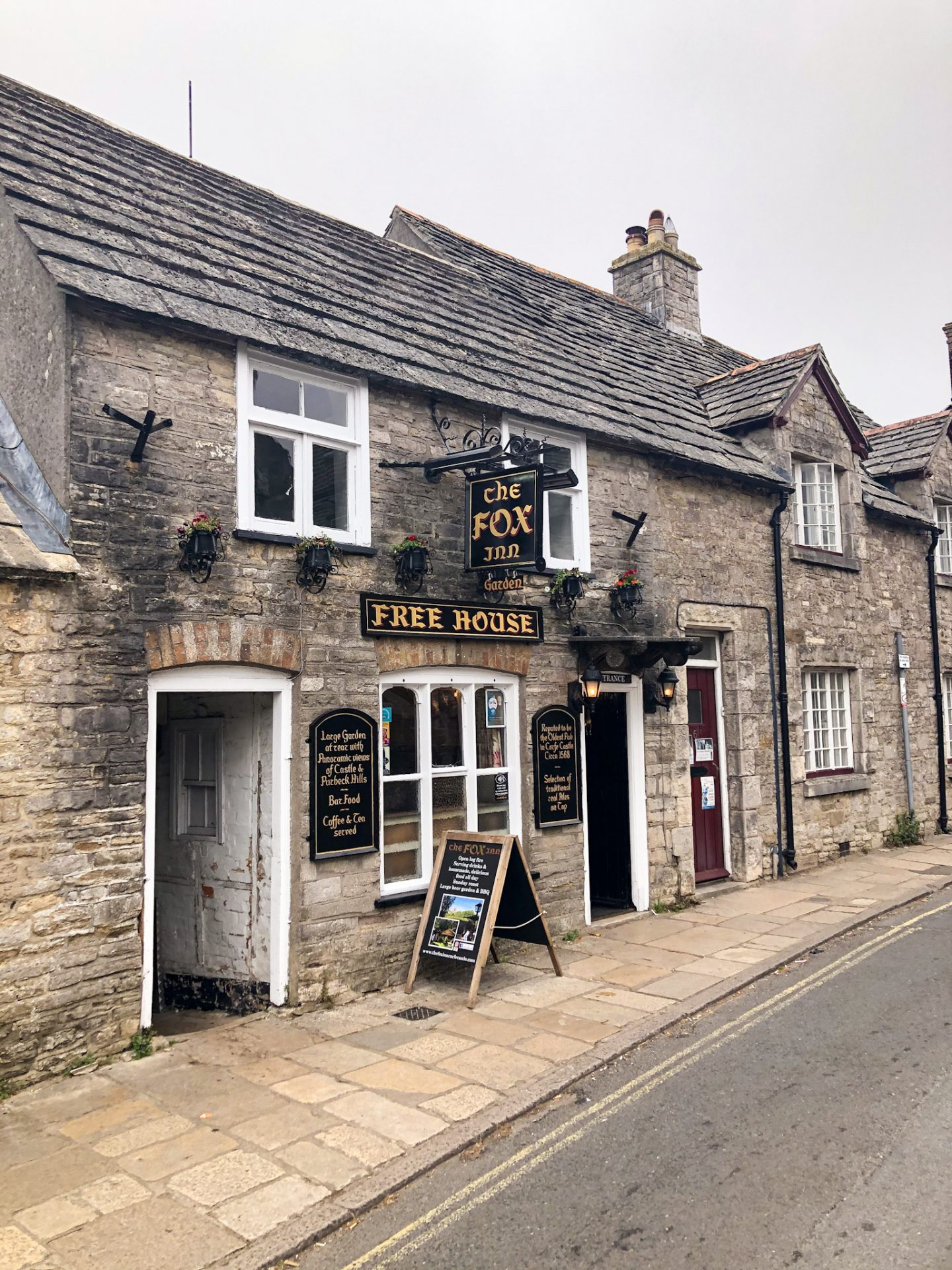 The Fox Inn Corfe Castle