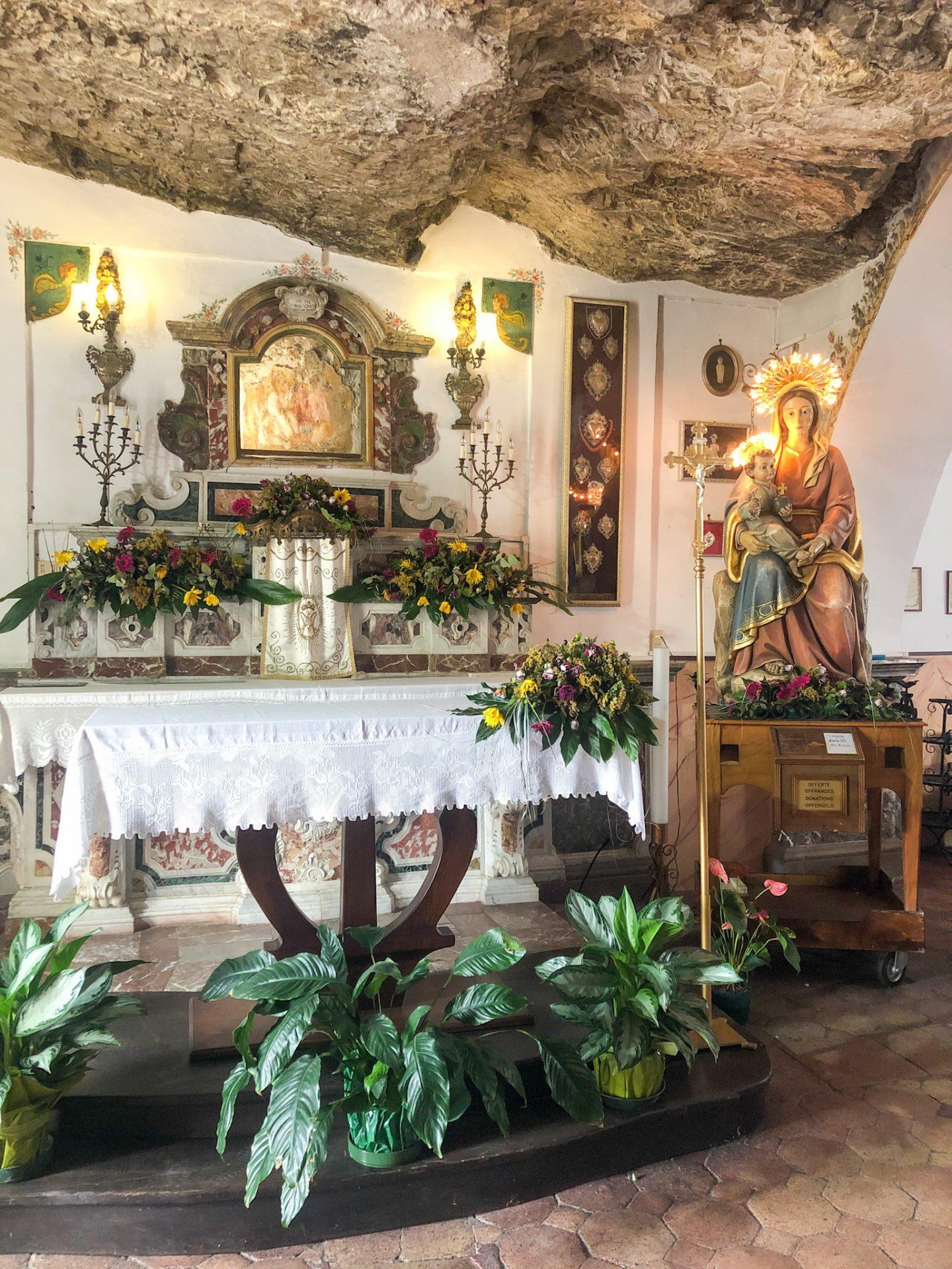 Chiesa Madonna della Rocca Taormina