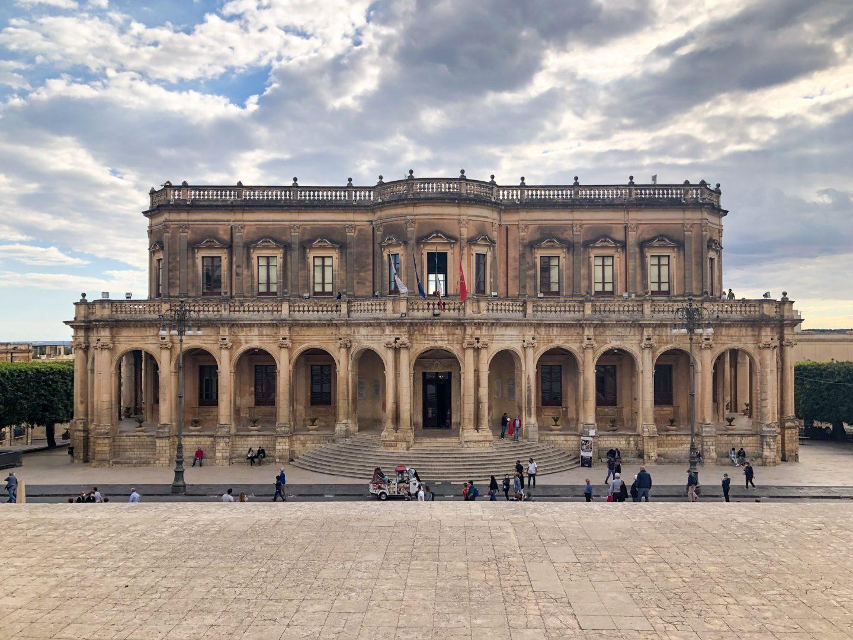 Palazzo Ducezio Noto Sicily