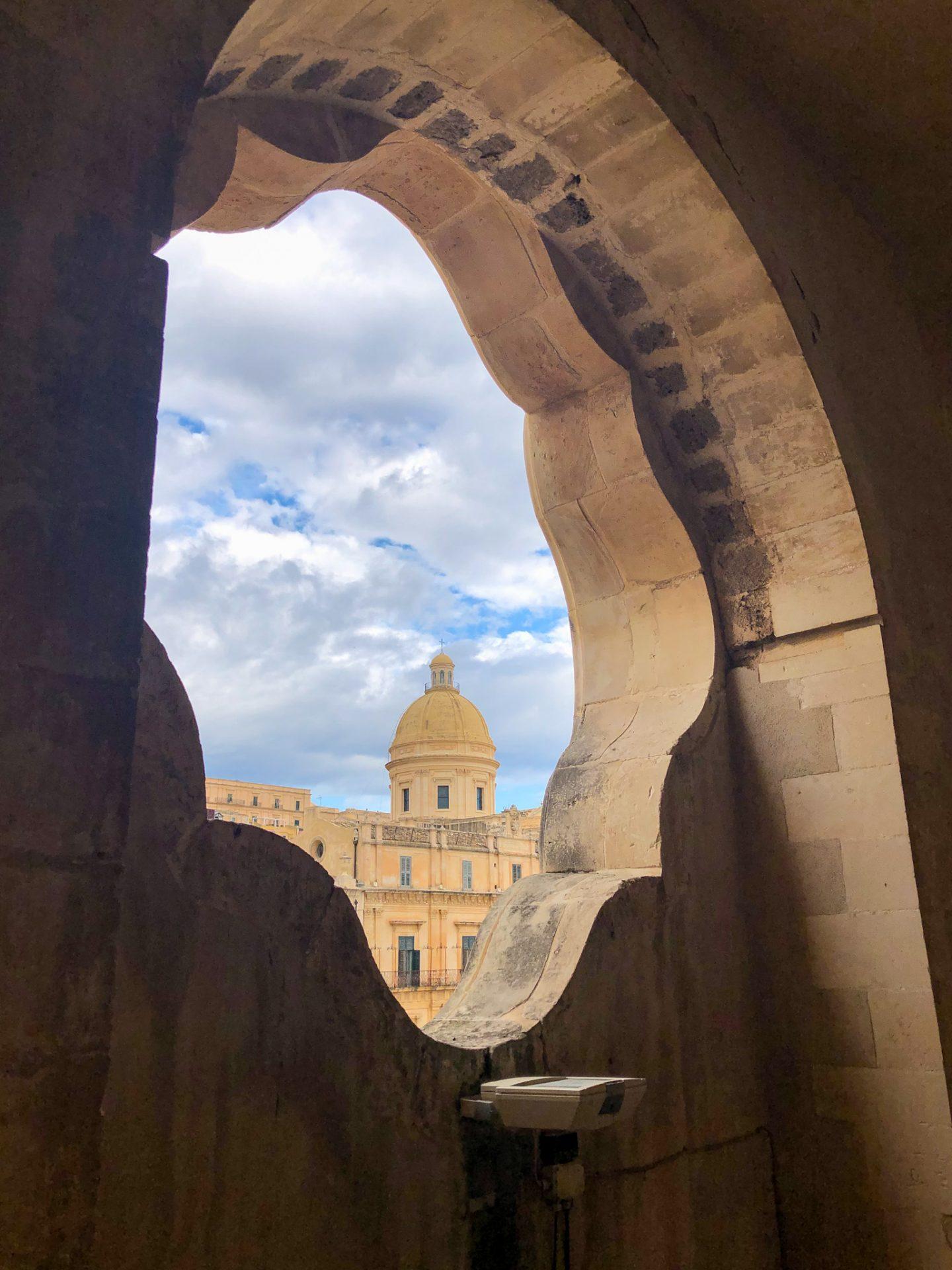 Chiesa di San Carlo Noto Sicily