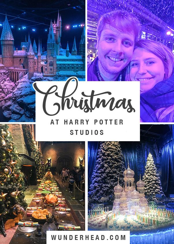 Christmas at Harry Potter Studios